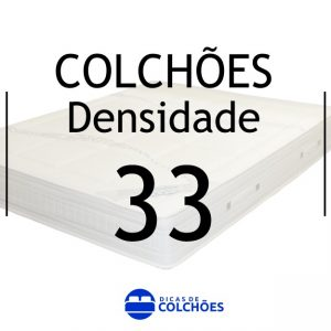 colchões densidade 33