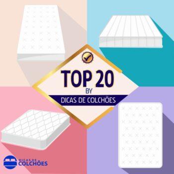 Qual o melhor colchão? O Top 20 by Dicas de Colchões