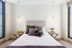 colchão e quarto harmonizado pelo feng shui
